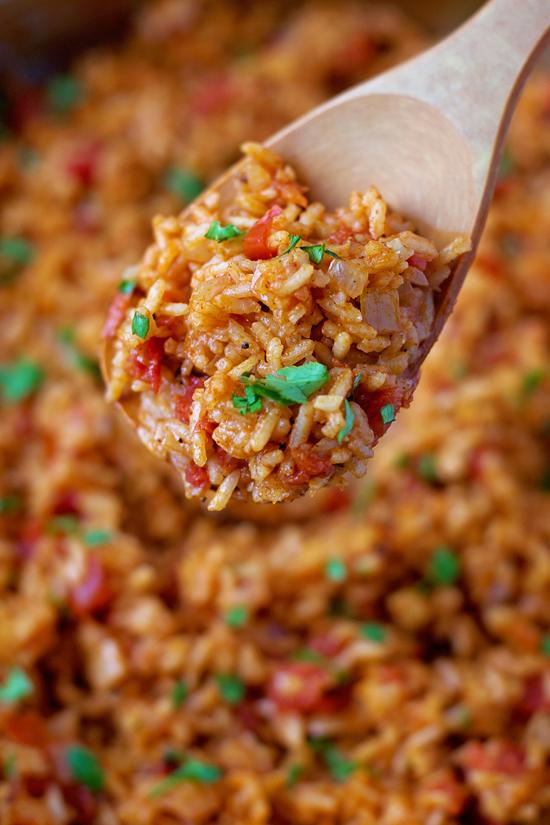 Flavorful Spanish Rice