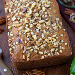 Lightened Up Zucchini Bread