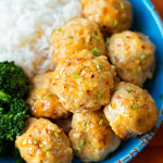 Easy Orange Chicken Meatballs