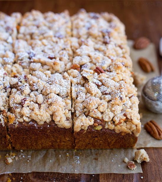 Vanilla Cake Mix Pumpkin Puree: Spiced Pumpkin Crumb Cake