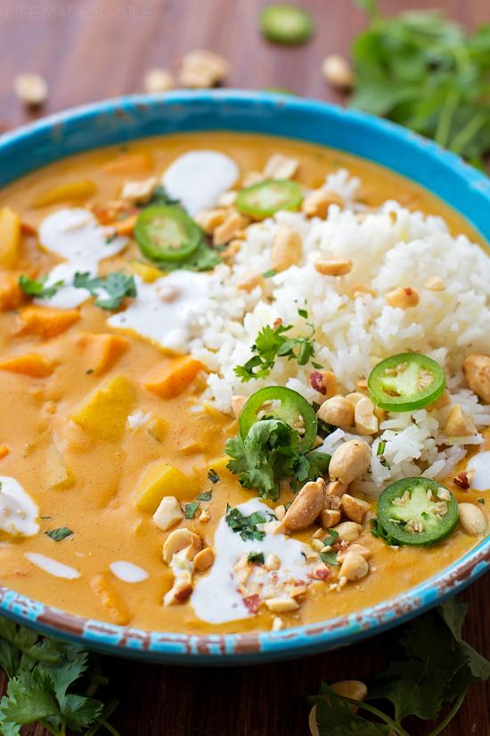 Sweet Potato Coconut Curry