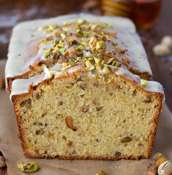 Pistachio Pound Cake - Life Made Simple