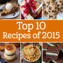 Top Recipes of 2015 | lifemadesimplebakes.com