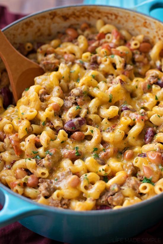 Chili Mac and Cheese   lifemadesimplebakes.com