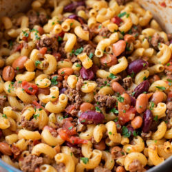 Chili Mac and Cheese | lifemadesimplebakes.com