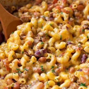 Chili Mac and Cheese | lifemadesimplebakes.com