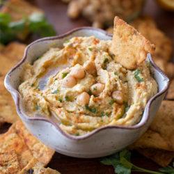 Homemade Garlic Hummus   lifemadesimplebakes.com