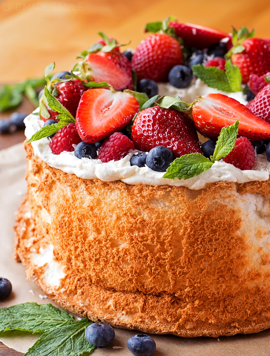 Classic Angel Food Cake Life Made Simple
