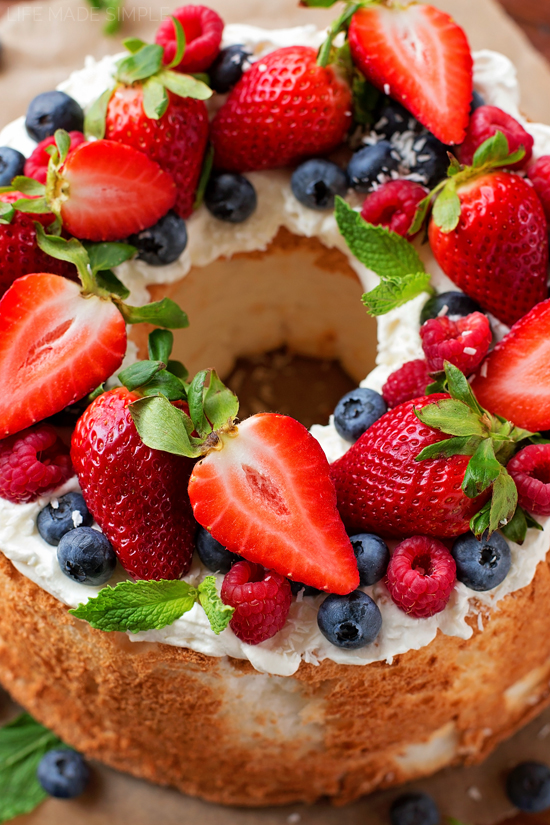 Whole Foods Angel Food Cake