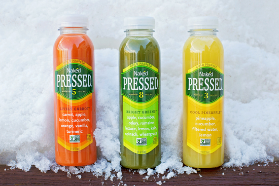 NEW! Naked Cold Pressed Juice