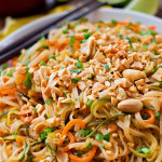 Spiralized Veggie Pad Thai