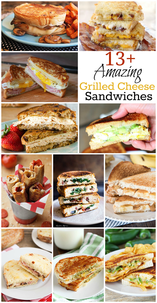 13+ Amazing Grilled Cheese Sandwiches | lifemadesimplebakes.com