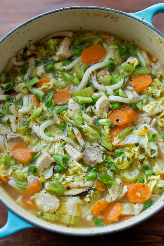 Asian Chicken Noodle Soup   lifemadesimplebakes.com