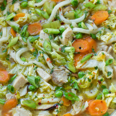 Asian Chicken Noodle Soup | lifemadesimplebakes.com