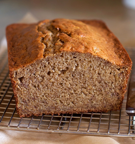 Heavenly Banana Bread | lifemadesimplebakes.com