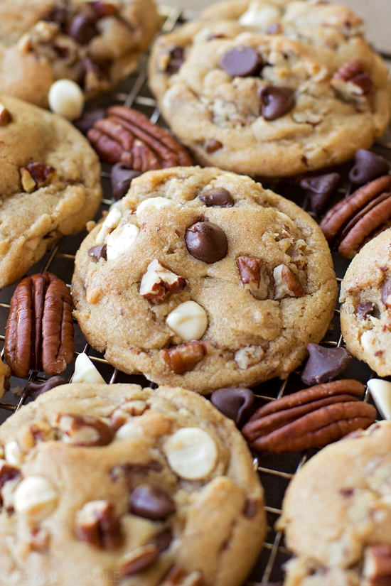 Browned Butter Pecan Chippers   lifemadesimplebakes.com