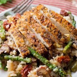"""Chase's Parmesan Chicken """"Risotto"""" 