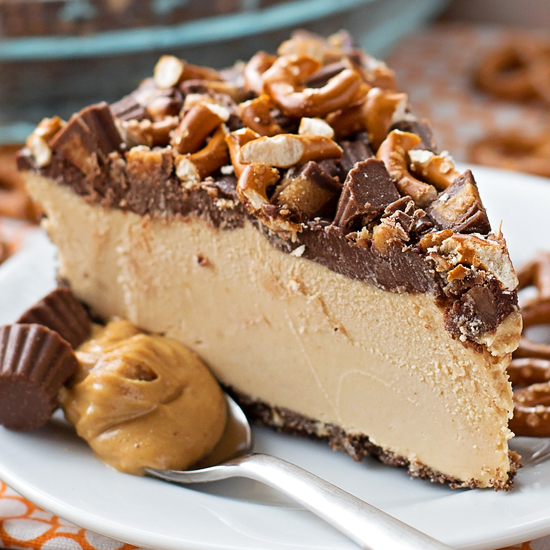 Frozen Peanut Butter Pretzel Pie Life Made Simple