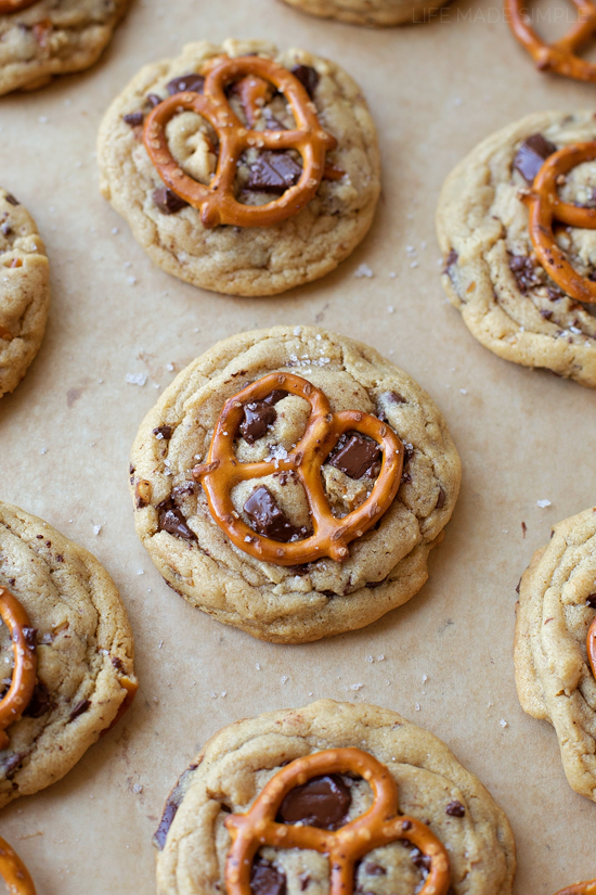 Peanut Butter Pretzel Chocolate Chunk Cookies Life Made Simple