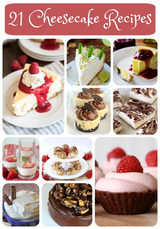 21 Cheesecake Recipes   lifemadesimplebakes.com