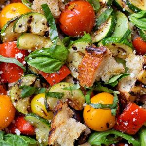 Grilled Panzanella SaladLife Made Simple