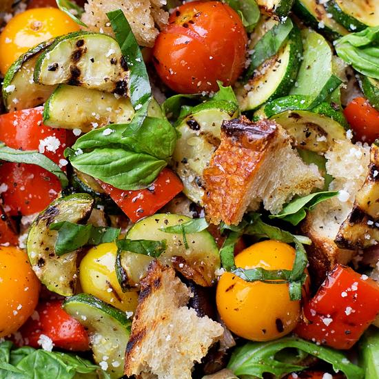 Grilled Panzanella Salad - Life Made Simple