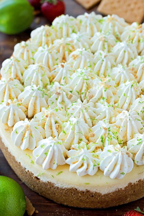 Key Lime Cheesecake | lifemadesimplebakes.com