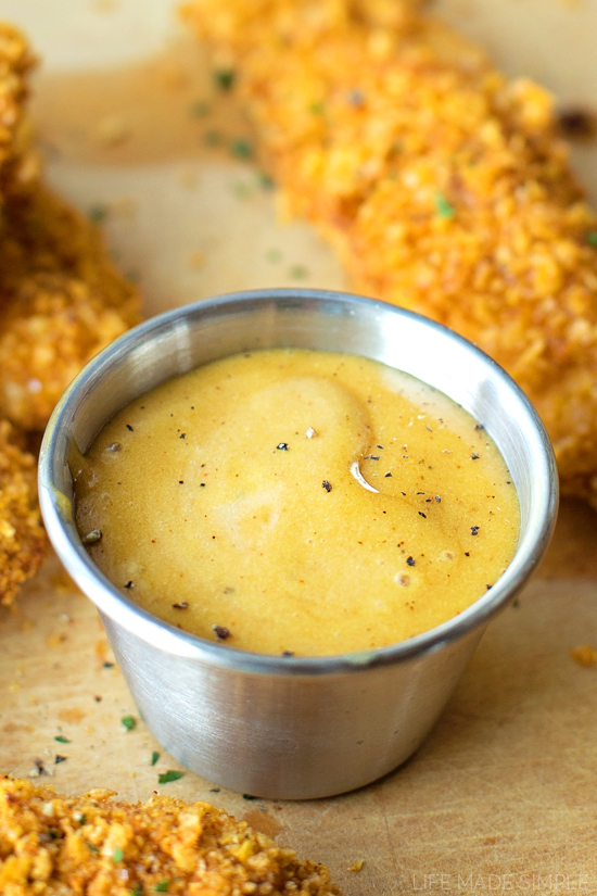 Crispy Cornflake Chicken Tenders | lifemadesimplebakes.com