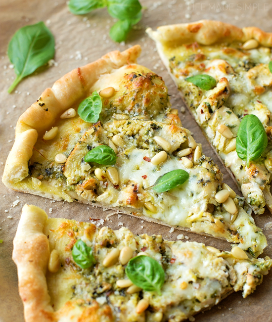 recipe: pesto pizza recipe [15]