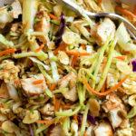 Sesame Coleslaw Salad
