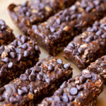 Triple Chocolate Granola Bars (with gluten-free, dairy-free and vegan options)