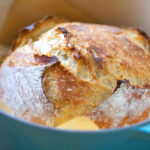 4 Ingredient No-Knead Artisan Bread