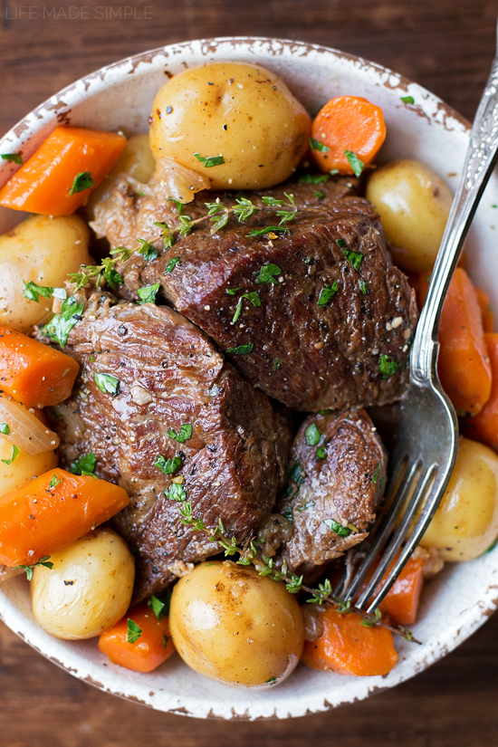 Perfect Pot Roast | lifemadesimplebakes.com