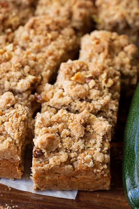Zucchini Crumb Cake | lifemadesimplebakes.com