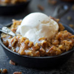 Pumpkin Praline Skillet Cake + How to Make Homemade Pumpkin Puree!