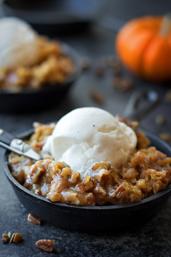 Pumpkin Praline Tartelettes With Butter Pecan Ice Cream ...