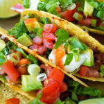 Extra Crunchy Turkey Black Bean Tacos