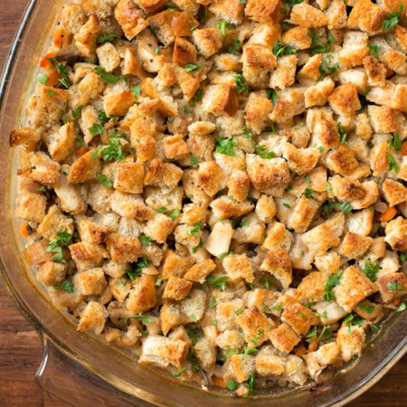 Chicken and Wild Rice Casserole | lifemadesimplebakes.com
