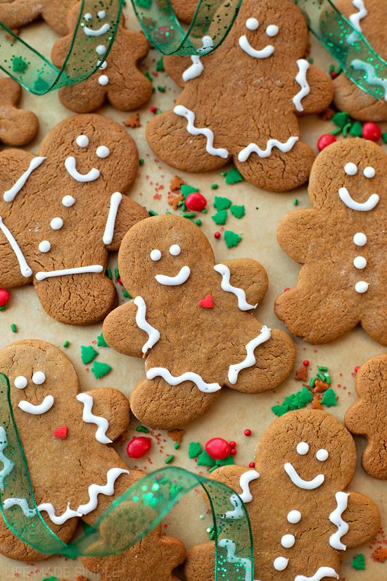Classic Gingerbread Cookies   lifemadesimplebakes.com