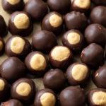 Peanut Butter Buckeyes | lifemadesimplebakes.com
