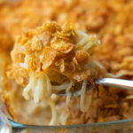 Cheesy Spiralized Potato Casserole