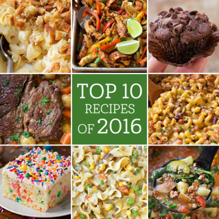 Top 10 Recipes 2016 | lifemadesimplebakes.com