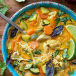 Curried Chicken Noodle Soup