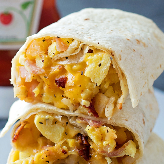Freezer-Friendly Breakfast Burritos - Life Made Simple