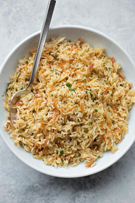 Perfect Rice Pilaf