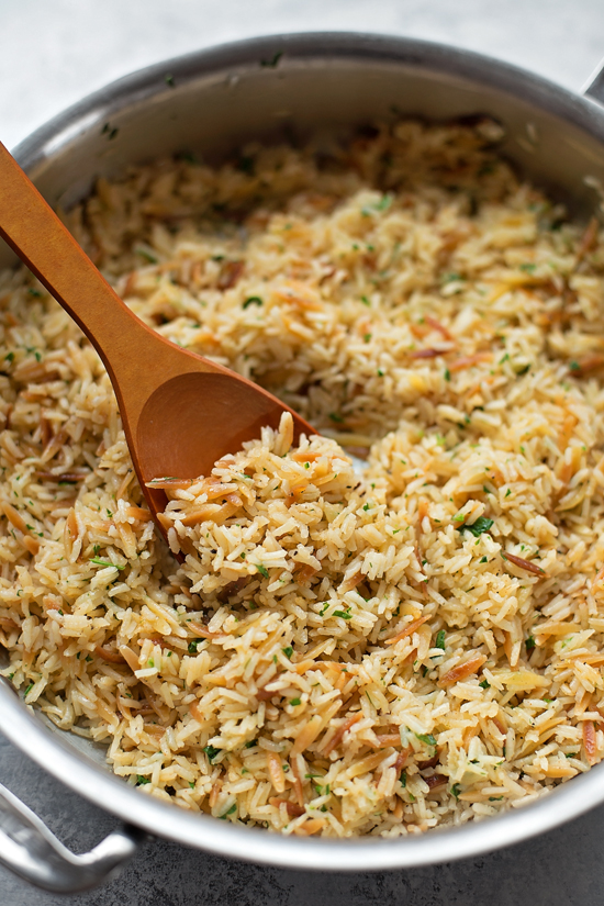 Perfect Rice Pilaf | lifemadesimplebakes.com