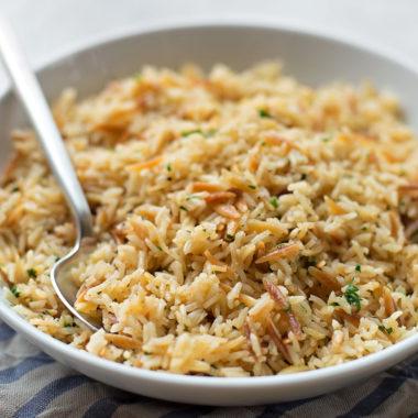 Perfect Rice Pilaf | lifemadesimplebakes.com
