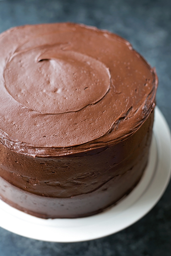 Grab Three 9 Inch Cake Pans And Butter Flour Them If You Plan On Doing A Naked Id Suggest Using Cocoa Powder Instead Of That Way The Edges