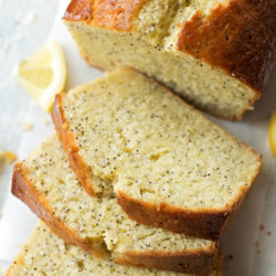 Heavenly Lemon Poppy Seed Bread | lifemadesimplebakes.com