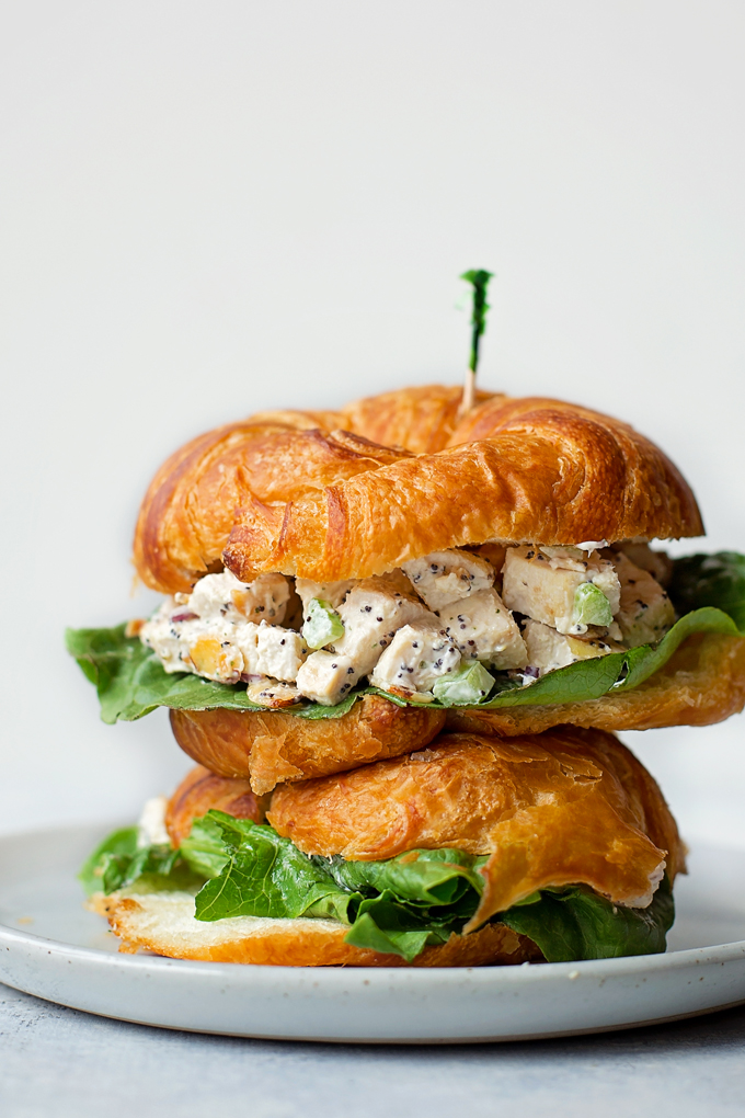 Almond Poppy Seed Chicken Salad